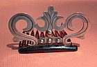 Auction Vintage Pre Assay Silver Hecho en Mexico Comb